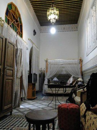 Riad Sara: Habitacion