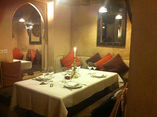 Riad Aladdin: la mesa que nos prepararon