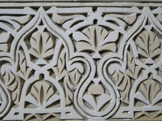 Riad Sara: Detalle de pared