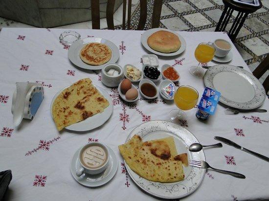Riad Sara: Desayuno