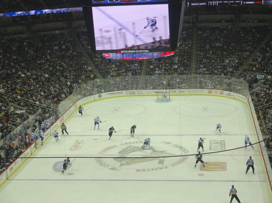 PPG Paints Arena: playing