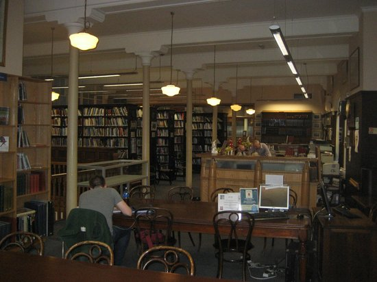 Linen Hall Library: From window