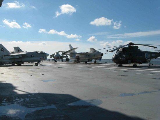 Patriots Point Naval & Maritime Museum: The Flight Deck, Yorktown