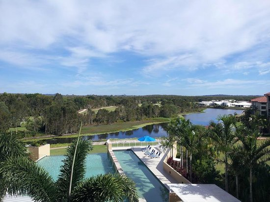 The Sebel Pelican Waters Golf Resort & Spa: View looking to the north-west from floor 3