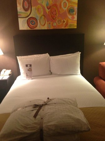 Doubletree by Hilton Dallas Market Center: The beds and pillows are super comfortable