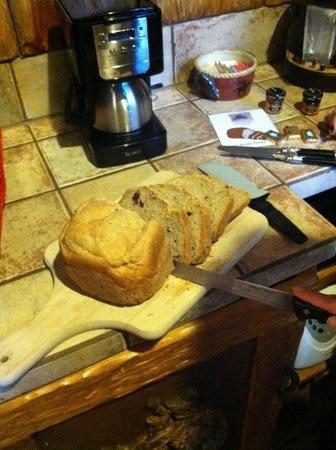 Adobe Grand Villas: Baked bread