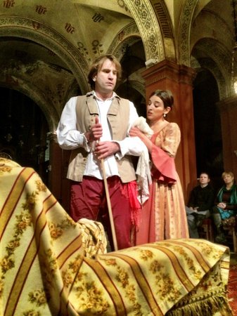 Opera at St. Mark's Anglican Church: The Marriage of Figaro... Fun and very entertaining...
