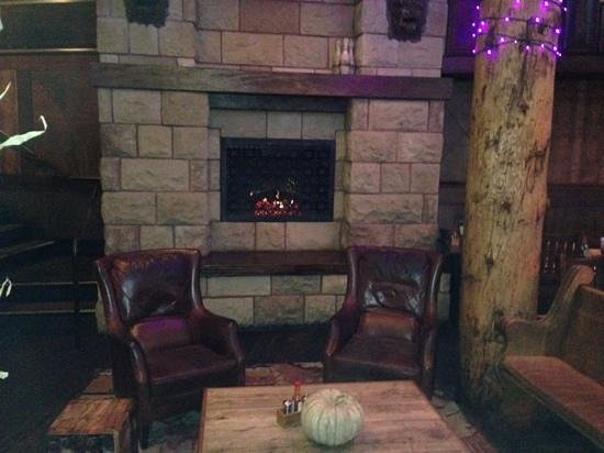 The Grove : fireplace