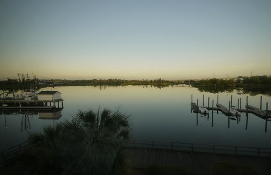 BEST WESTERN PLUS Coastline Inn: Our view to the river in the dawn