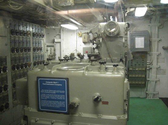 Patriots Point Naval & Maritime Museum: Gun Control Computer, 1944, Laffey