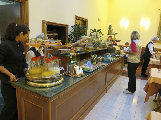 Hotel Diocleziano : breakfast-room