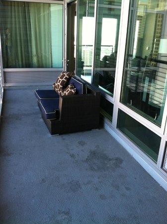 Kimpton Hotel Palomar San Diego: Balcony 1