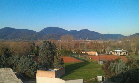 Radisson Blu Resort, Terme di Galzignano – Hotel Sporting: Vista dal balcone della camera