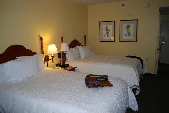 Hampton Inn & Suites Convention Center: Zimmeransicht