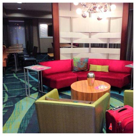 SpringHill Suites Nashville MetroCenter: Dining area