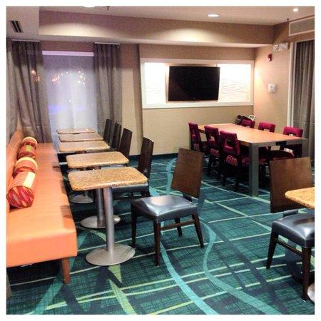 SpringHill Suites Nashville MetroCenter: More dining area