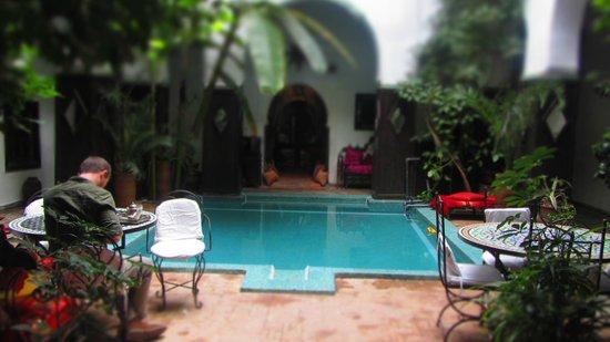 Dar Abiad : Very small/shallow pool