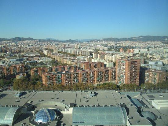 Hilton Diagonal Mar Barcelona: View from room