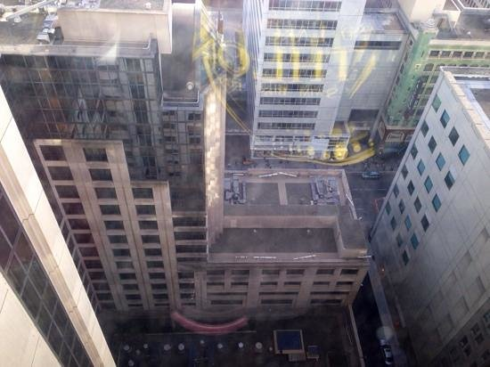San Francisco Marriott Marquis : view out of mjy window