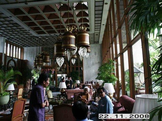 Mandarin Oriental, Bangkok : Hotel foyer