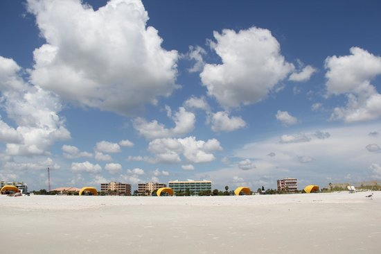 South Beach Condo/Hotel: view of hotel from beach