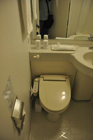 Sotetsu Fresa Inn Tokyo Toyocho Ekimae: WC eléctronico.