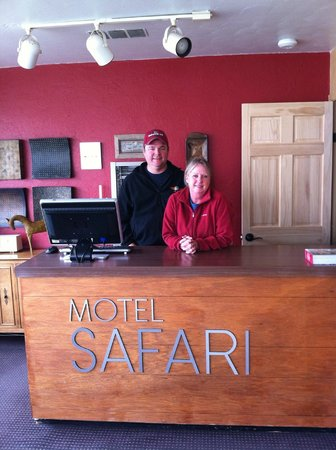 Motel Safari: Richard and Gail Talley, Proprietors