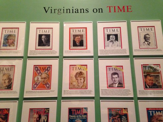 Virginia Historical Society: Wall of fame