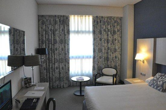 Hotel Nuevo Boston: Habitación vista a la cama