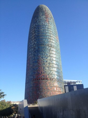 Encants Barcelona: La vista della torre agbar