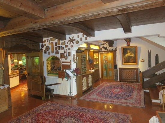 Auenhof Familien & Vitalhotel: Lobby