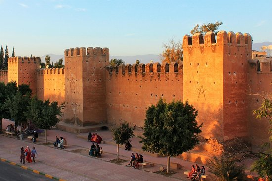Riad Maia: Taroudant walls at sunset - thanks Henri for the tip to find the stairs