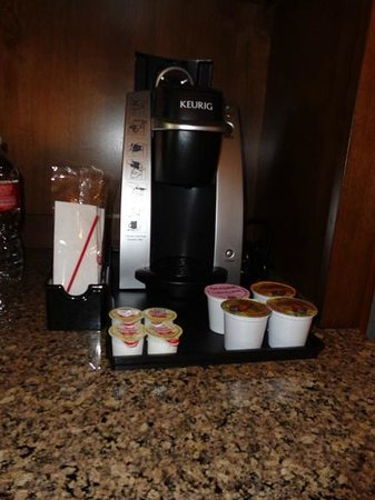 Hilton Garden Inn Fort Worth/Fossil Creek: kureg coffee