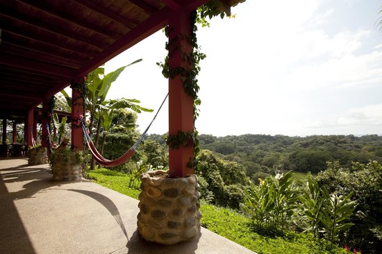 Costa Rica Yoga Spa : Gorgeous views from rooms downstairs.