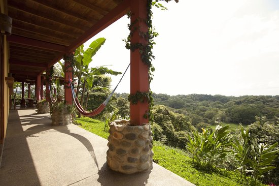 Costa Rica Yoga Spa : Room view from main level