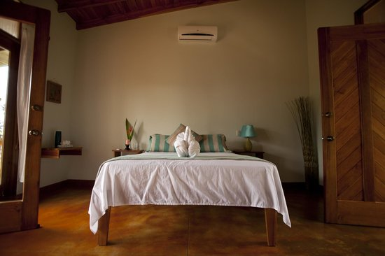Costa Rica Yoga Spa: Harmony Suite (Airconditioned)  No need for AC, rooms are comfortable at night to sleep