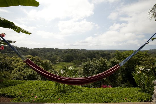 Costa Rica Yoga Spa : Hammock room view