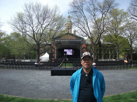 Princeton University: Happy to be here in one of the most prestigious universities in the U.S.
