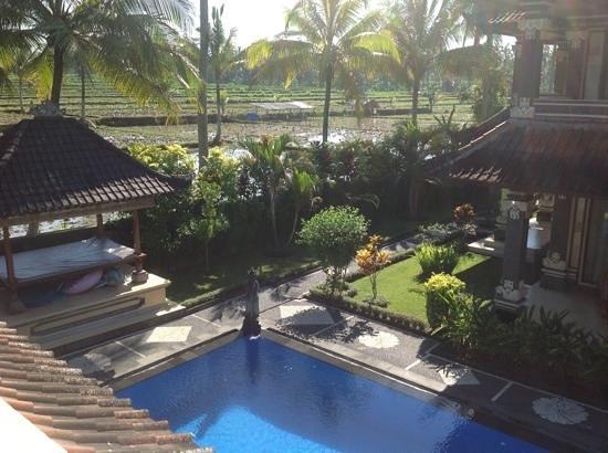 Villa Agung Khalia: view from our villa balcony