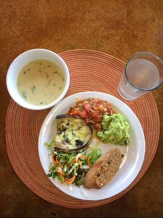 Costa Rica Yoga Spa: Another amazing healthy lunch!