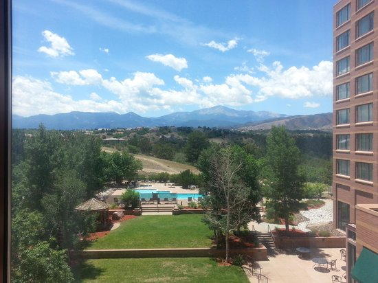 Colorado Springs Marriott : View From My Room