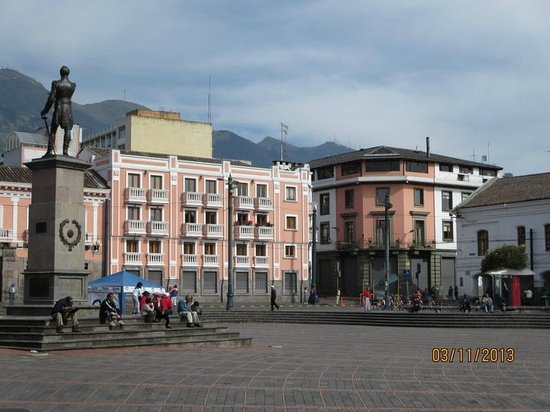 Hotel Real Audiencia: Plaza de Santo Domingo