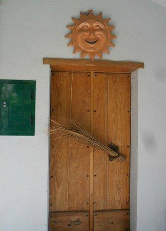 B&B Le Ghiande: My wife loved this door