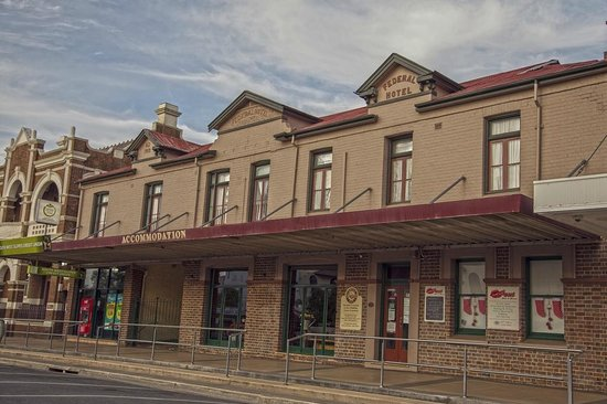 Street View - Patchwork Inn B & B is located centrally in Temora with off street parking