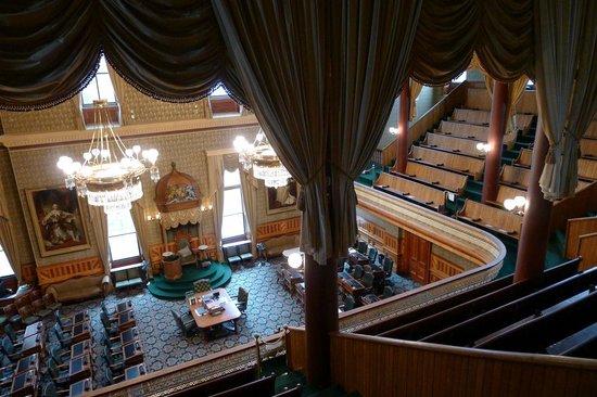 Legislative Assembly Building: chambers