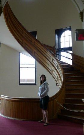 Legislative Assembly Building: neat spiral