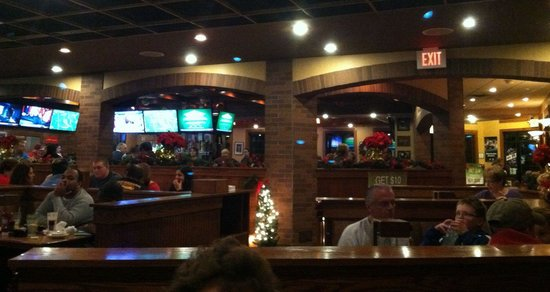 Copperhead Grille - Allentown: Dining area
