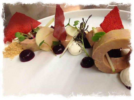 Cafe Cher-Mignon : foie gras
