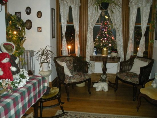 Keystone Inn Bed and Breakfast: sala