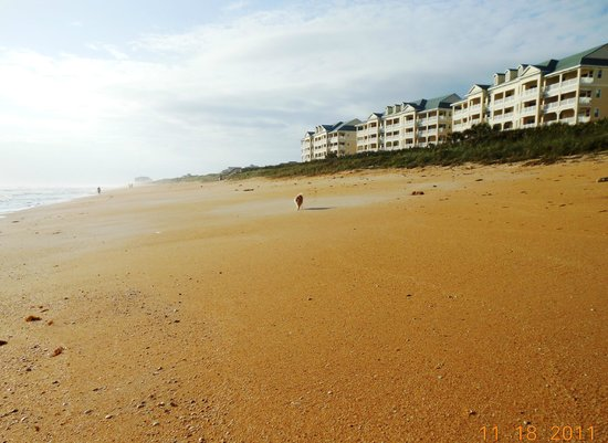 Cinnamon Beach at Ocean Hammock Beach Resort: spacious beach